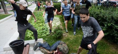 Violencia LGBT en Rusia
