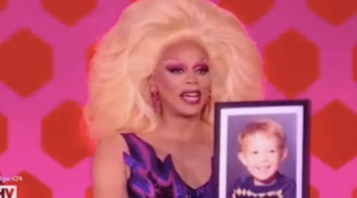RuPaul Drag Race - Temporada 10 - Kameron Michaels child