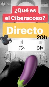 Resultado encuesta Josemola ciberacoso gay