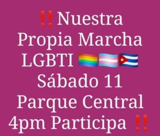 Convocatoria Conga Contra La Homofobia de La Habana