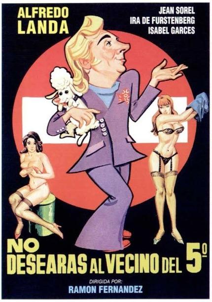 Cartel de la película 'No desearás al vecino del quinto'